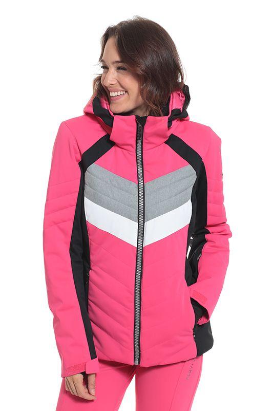 fc15aa8e8b Sun Valley Retro női sí és snowboard kabát, pink - Tormasport